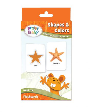 Brainy Baby Shapes and Colours Flashcards