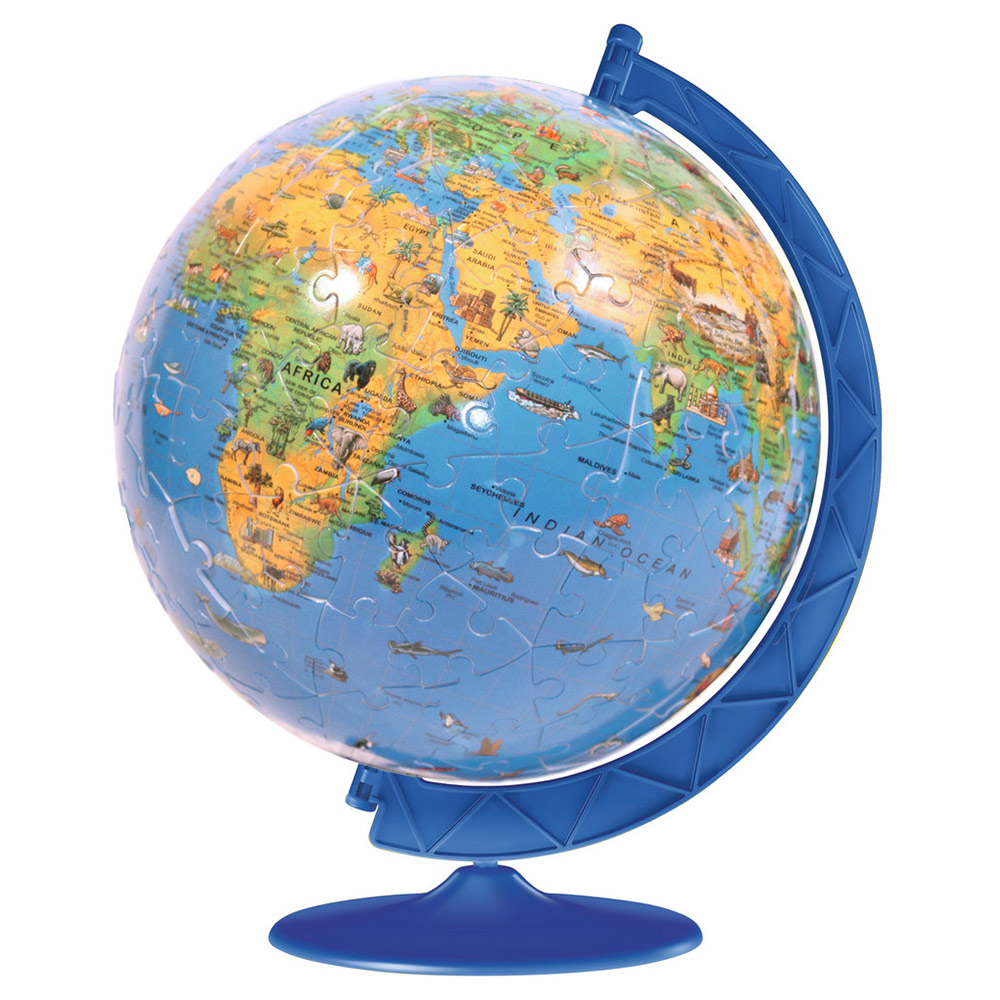 3d globe puzzle rhimamory world map 3d puzzle write the first review gumiabroncs Gallery