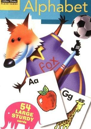 Golden Books Alphabet Flashcards