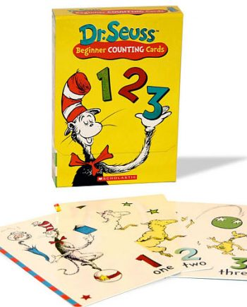 Dr Seuss 123 Flashcards