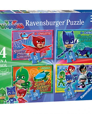 PJ masks set of 4 puzzles